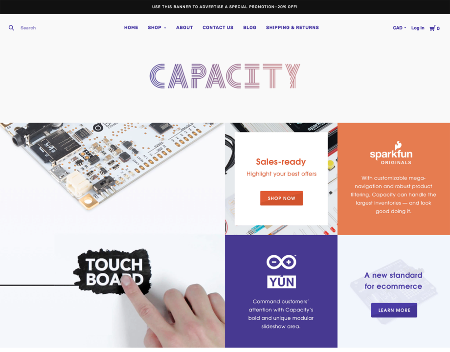 Capacity-Cool | BigCommerce